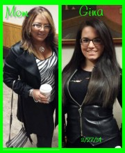 Me and Gina 3-27-14